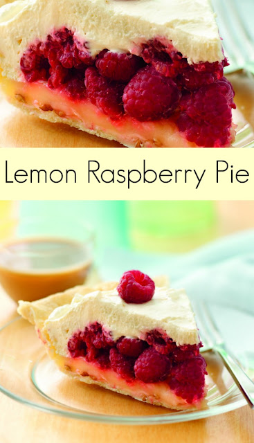 Lemon Raspberry Pie |  The Jenny Evolution on fg2b
