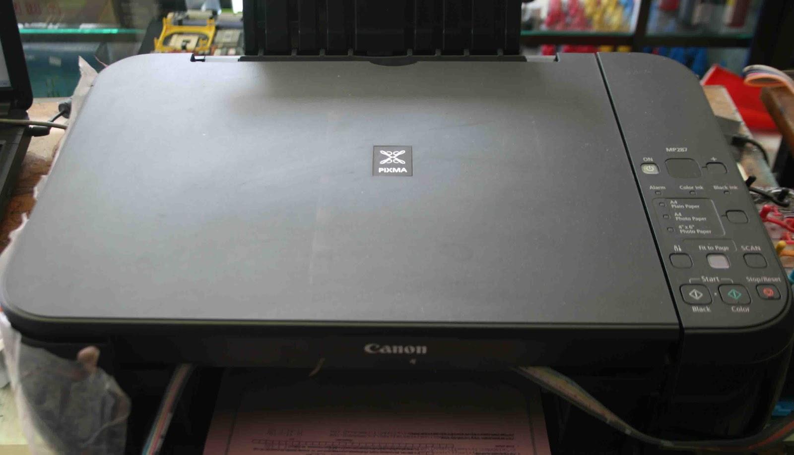 Boedjhank Crew Computer Cara Mengatasi Canon Mp287 Eror P03 Eror 6000