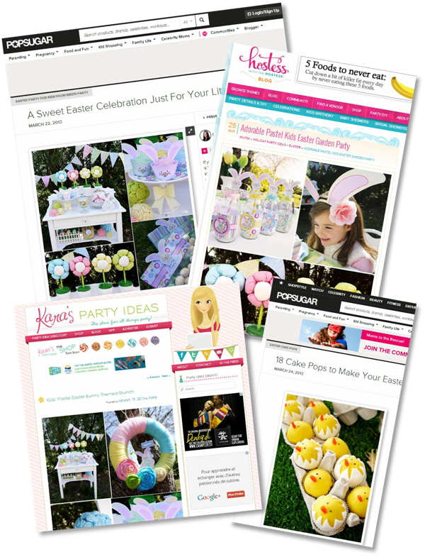 Easter Inspiration & Party Ideas - BirdsParty.com