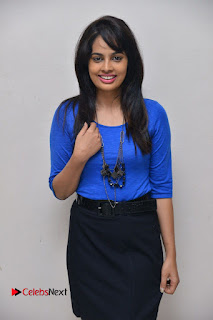 Actress Nandita Swetha Stills in Black Mini Skirt at Ekkadiki Potavu Chinnavada Movie Special Show  0009.JPG