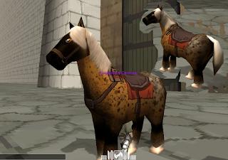 Gravid Horse Skin - Attack On Titan Tribute Game