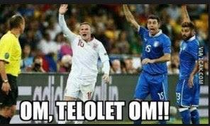 dp bbm sepak bola lucu om telolet