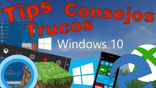 Opciones ocultas de Windows 10 que debes conocer