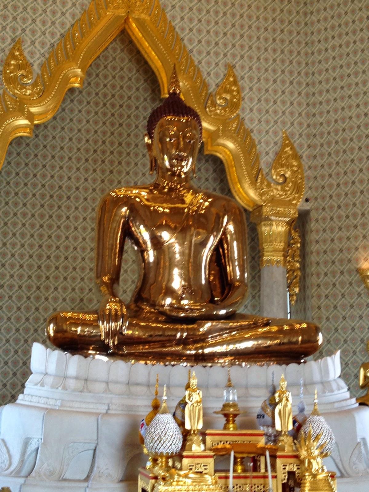 Bangkok - Golden Buddha