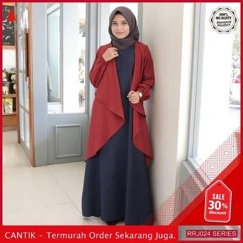 Jual RRJ024D136 Dress Winter Maxy Wanita Mo Terbaru Trendy BMGShop
