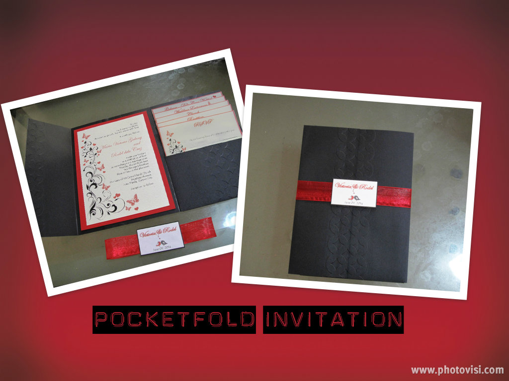 DIY Project - Pocketfold Invitation - The Adventures of Miss Chuchubells