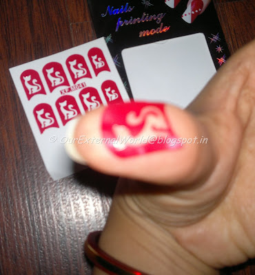 Nail Printing Mode - Pussy Stickers