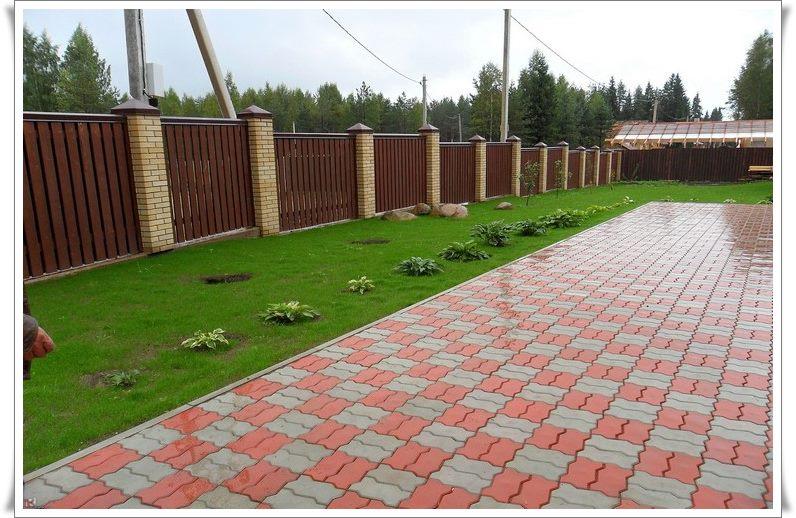 Тротуарная плитка цена за квадратный метр