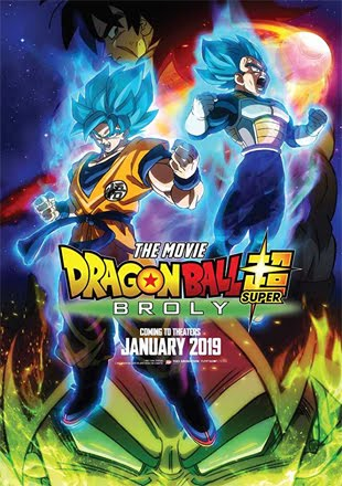 Dragon Ball Super Broly 2019 Full Hindi Movie Download 720p HDRip ESubs