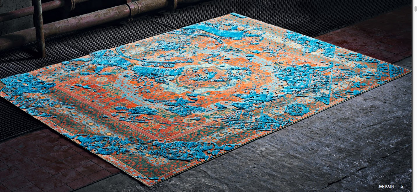 His Rugs Will Be Soon Available At Front S New London Showroom If You Re Interested