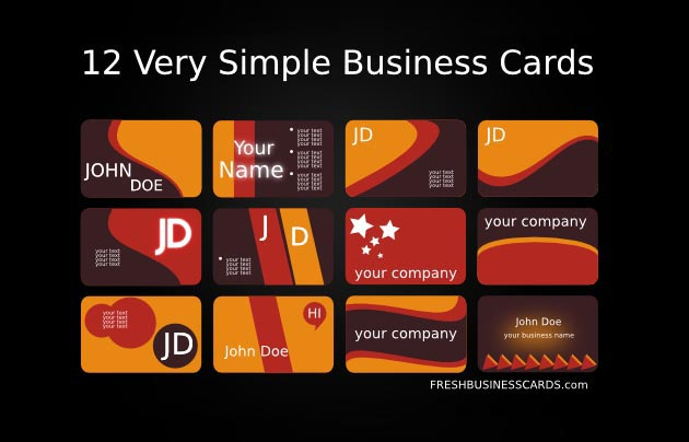 43 Best Free Business Card Templates