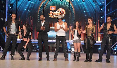 Karan Johar, Madhuri Dixit @ Launch of 'Jhalak Dikhhla Jaa' session 6