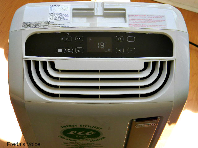 Delonghi america pacan120ew whisper cool portable air for 1800 btu window air conditioner