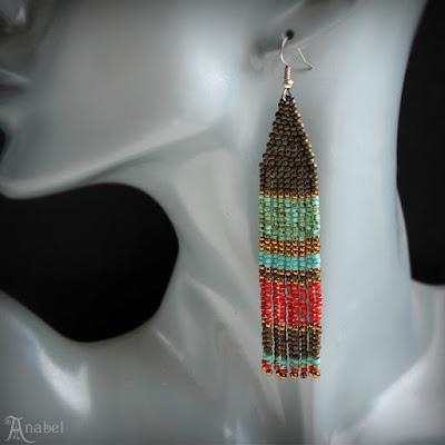 купить серьги в этническом стиле фото серьги из бисера в этно стиле