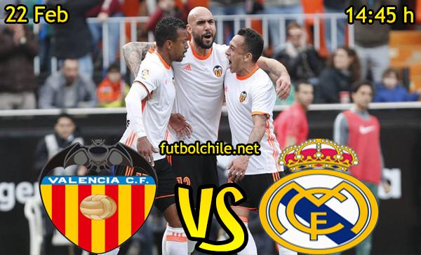 Ver stream hd youtube facebook movil android ios iphone table ipad windows mac linux resultado en vivo, online: Valencia vs Real Madrid