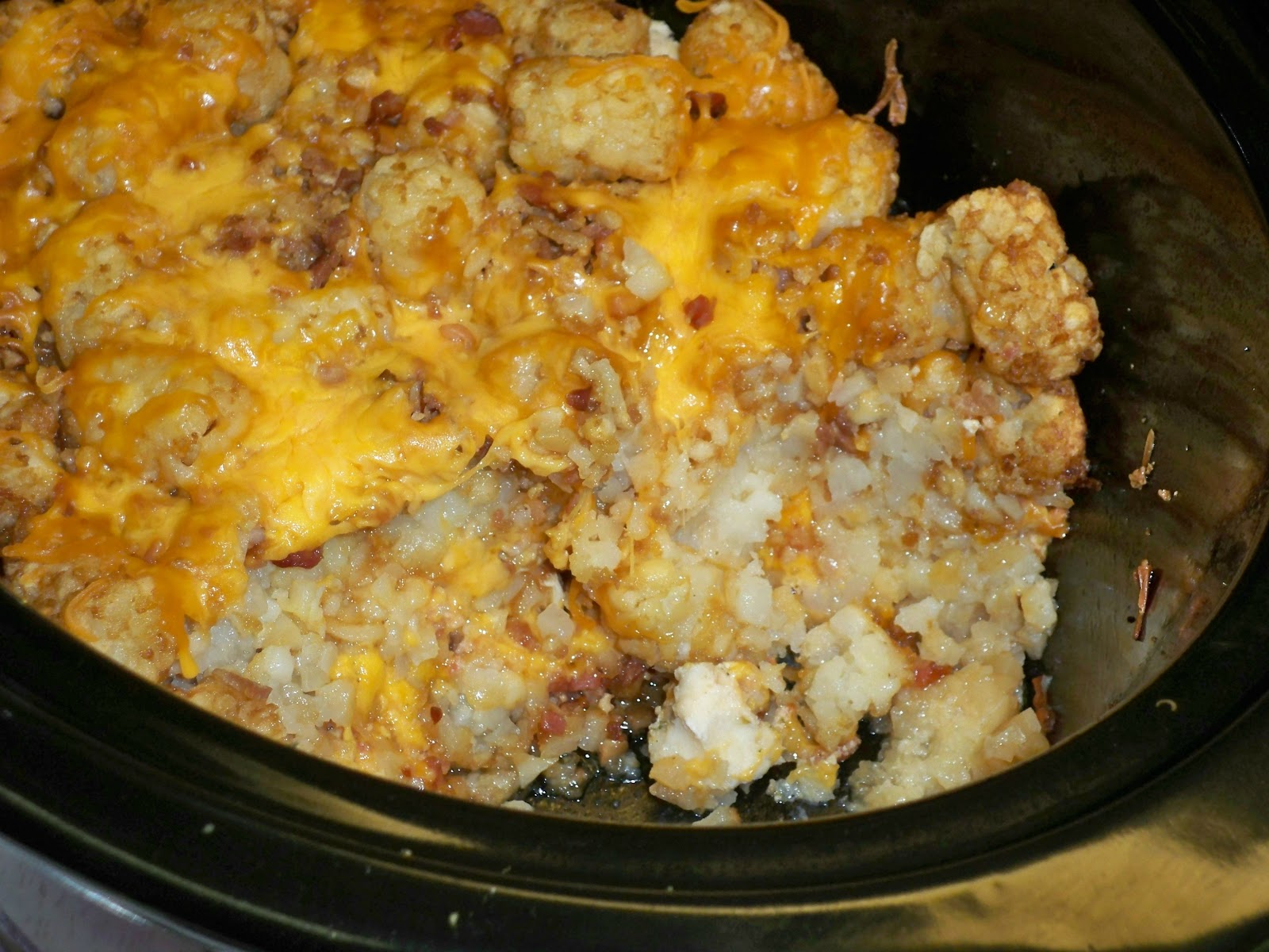 Gramma's in the kitchen: Cheesy Chicken Tater Tot ...