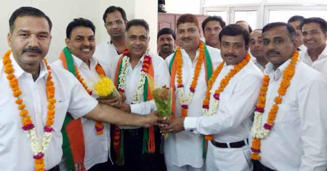 santram-sharma-become-president-bjp-legal-cell-faridabad