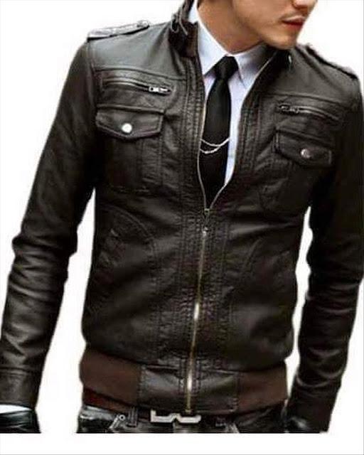 Jaket Kulit Anak Muda