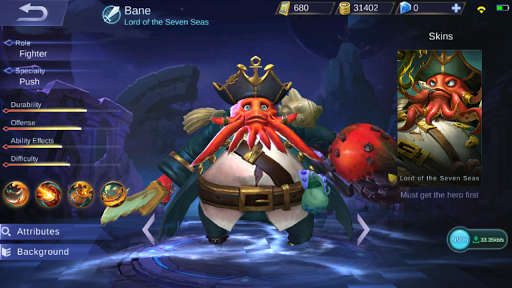 Bane Reworked (Looks and Skills 1/2018)