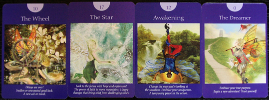 A bad witch's blog: Review: Fairy Tarot Cards by Doreen Virtue