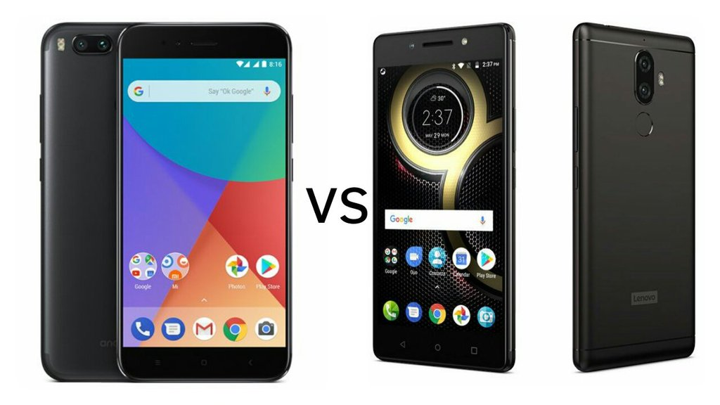 Mi A1 Vs Lenovo K8 Note Price Specs Features Comparison