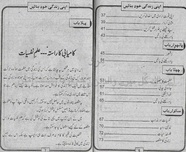 Self Help Urdu Book Apni Zindagi Khud Banaein by Iqbal Shaheen
