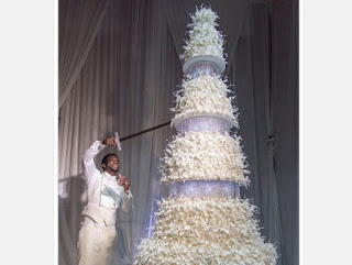 See Gucci Mane and Keyshia Kaoir's $100K giant wedding cake