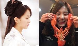 Sao Hàn 23/1: Kim So Hyun khoe góc chụp nghiêng xinh đẹp, Tzuyu cười tít mắt