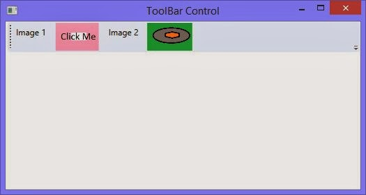 How to place an image control in ToolBar Control: WPF XAML