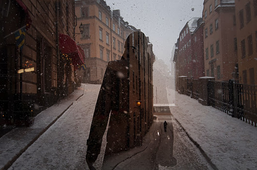 Stockholm and how the winter is not coming. It's here.
