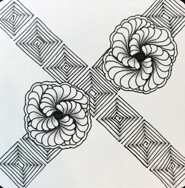 Hahnemühle YouTangle.art Tiles and zentangle art #Hahnemühle