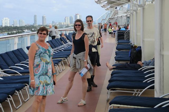 Celebrity Eclipse deck Miami