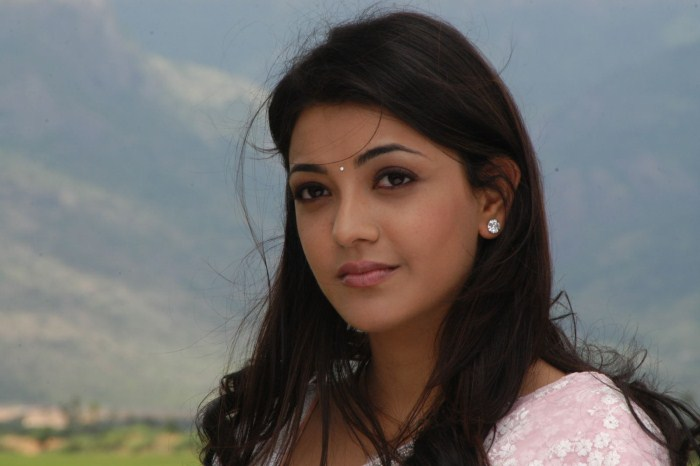 Kajal Agarwal Latest Photos In Pink Saree