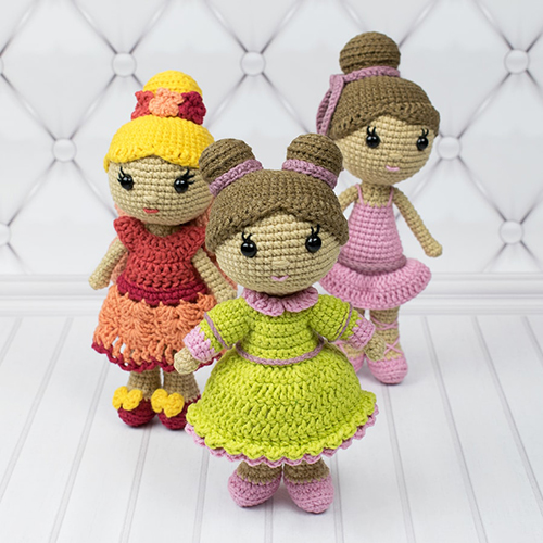 Little Lady Doll - Free Crochet Pattern