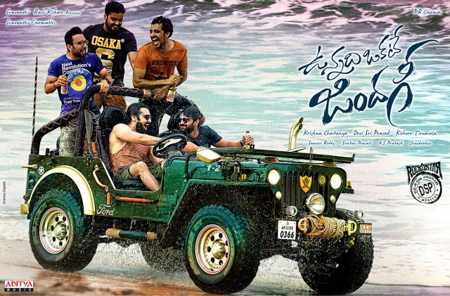 Vunnadhi Okate Zindagi Movie First Look Poster