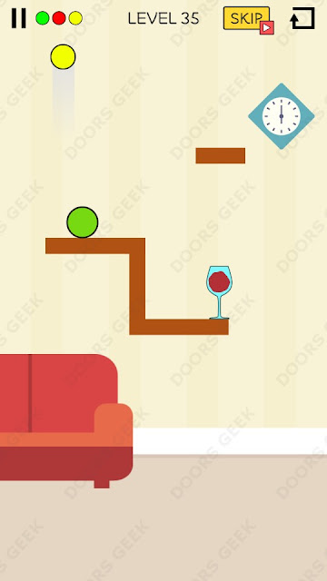 Spill It! Level 35 Walkthrough, Solution, Cheats for Android, iPhone, iPad and iPod