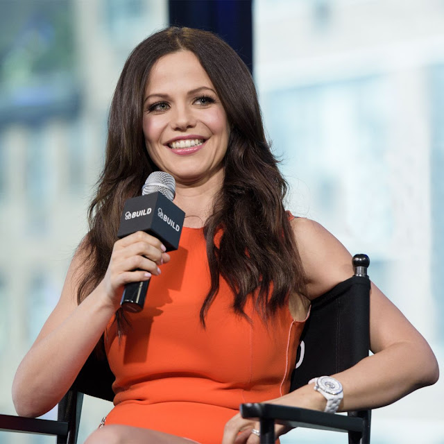 Ex Home And Away actress Tammin Sursok at AOL Build Speaker Series in NYC