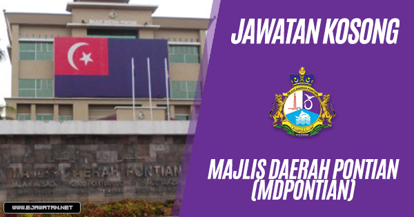 Jawatan Kosong di Majlis Daerah Pontian (MDPontian) 2019