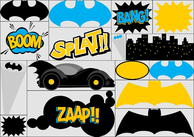 Batman Cute Clip Art Oh My Fiesta For Geeks