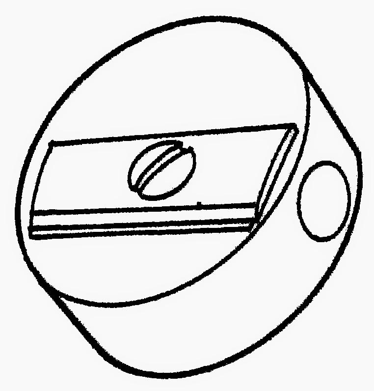 Dunia Sekolah: Gambar Hitam Putih (drawing) - Alat tulis