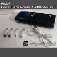 Power Bank Roruite 12800mAh S680