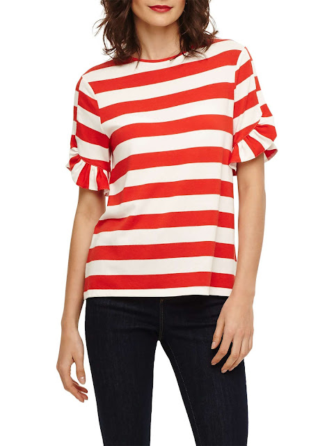 phase eight solange stripe top