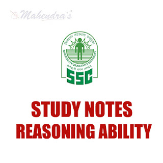 Study Notes : Missing Character For SSC CGL / CPO | 19.04.18