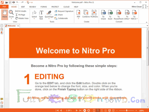 Nitro Pro Enterprise Full Version