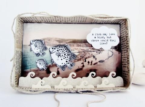 ocean diorama box