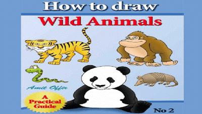تعليم رسم الحيوانات البرية