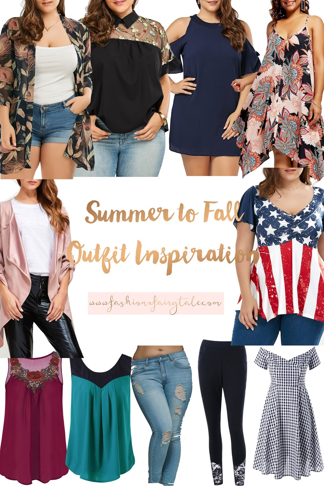 Summer to Fall Transition Outfit Inspiration