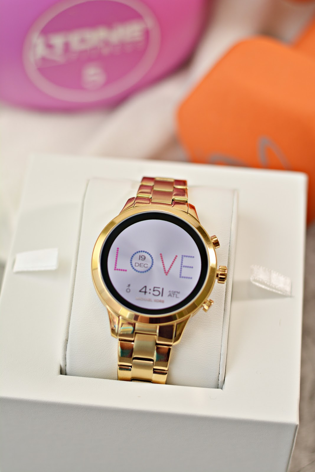 Life With 4 Boys The Michael Kors Access Runway Smartwatch Get