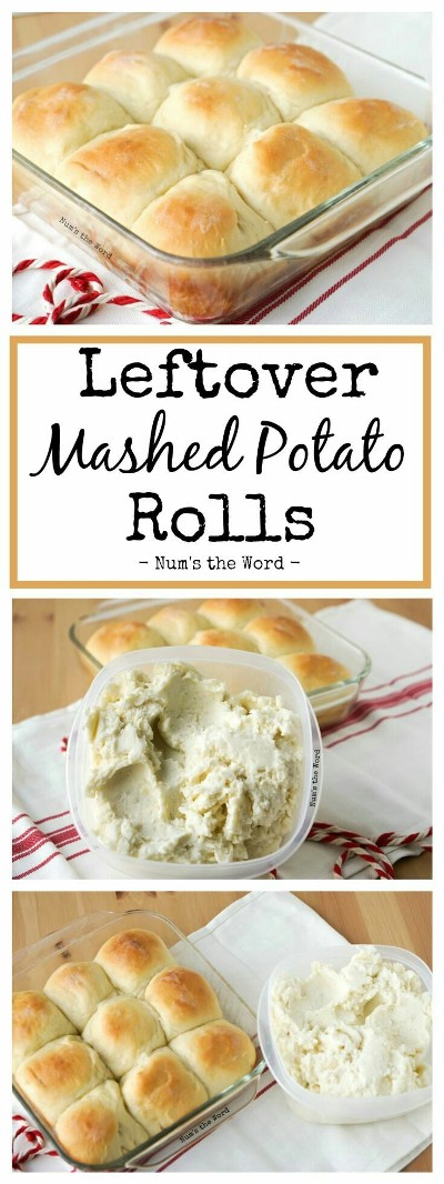 Leftover Mashed Potato Rolls. Foto: Num's The Word