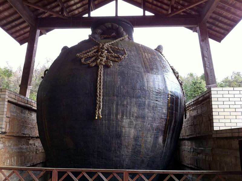 世界一大きい茶壺
